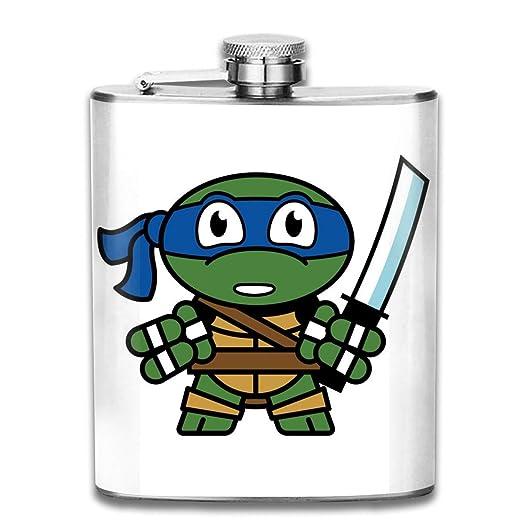 Petaca de bolsillo con diseño de las Tortugas Ninja Mutantes ...