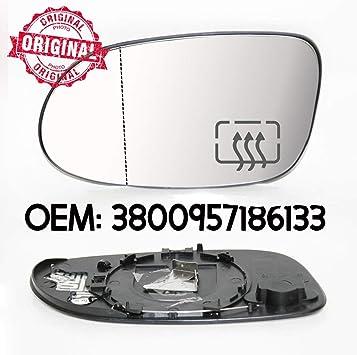 Linker Außenspiegel Glas Weitwinkel Beheizbar Und Basis Kompatibel Mit Clk W209 2002 2010 Oem 3800957186133 Auto