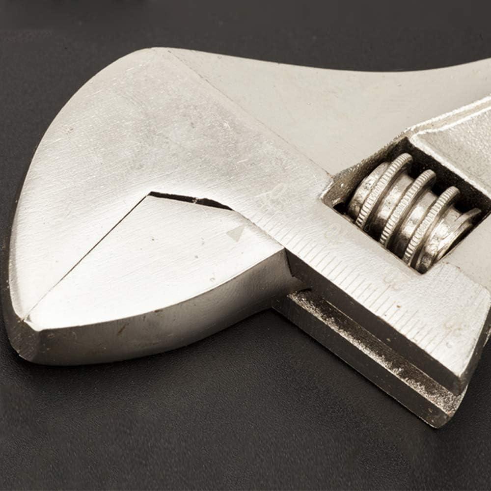 reparaci/ón de 150 mm llave de tubo ajustable para el mantenimiento del coche Llave inglesa ajustable minillave inglesa ajustable