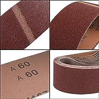 Sanding Belts 75x533 mm P40-P150 Belt Sanders Abrasive Cloth Belts