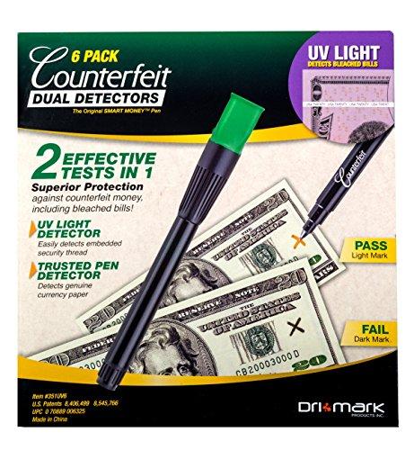 Drimark Dual Detector Pack 351UVB6