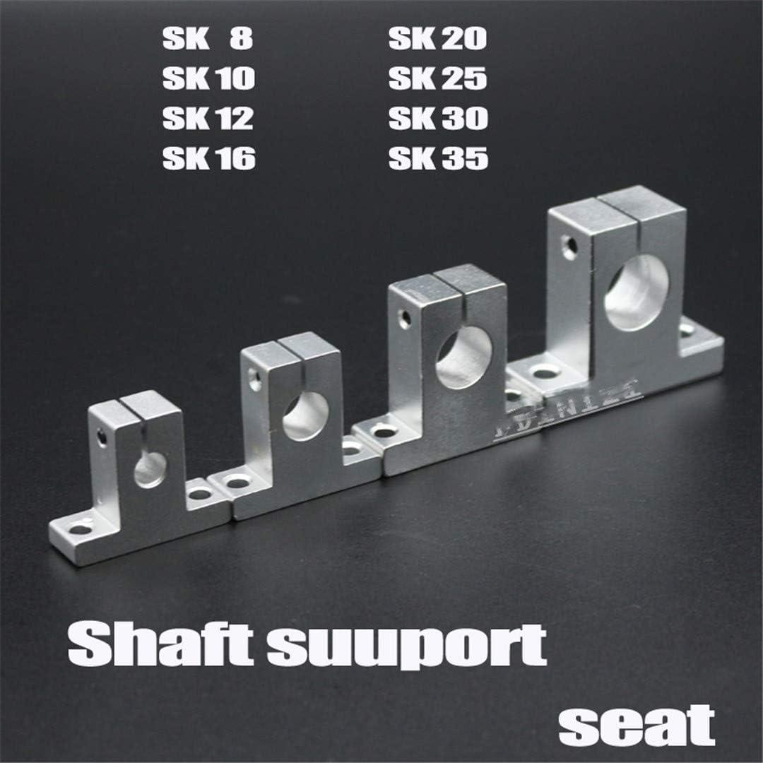 4pcs SK12 linear rail shaft support XYZ table CNC Router