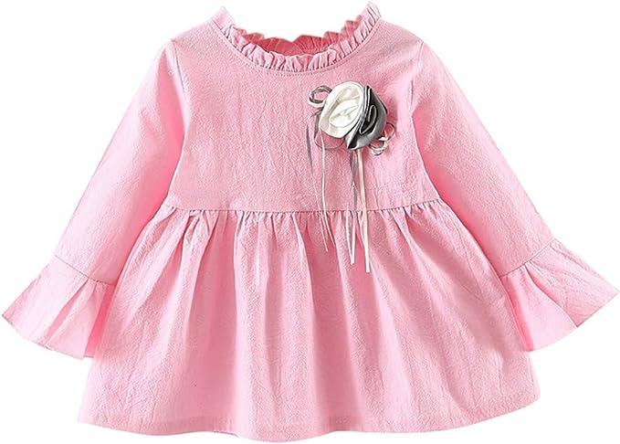 Mitlfuny Primavera Verano Bebé Princesa Vestidos Ropa para Niña ...