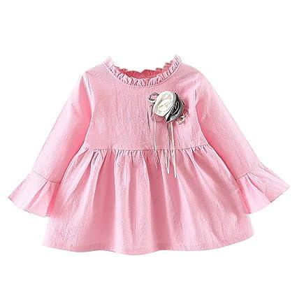 Amazon com : AutumnFall Girls Flower Dress Kids Dresses for
