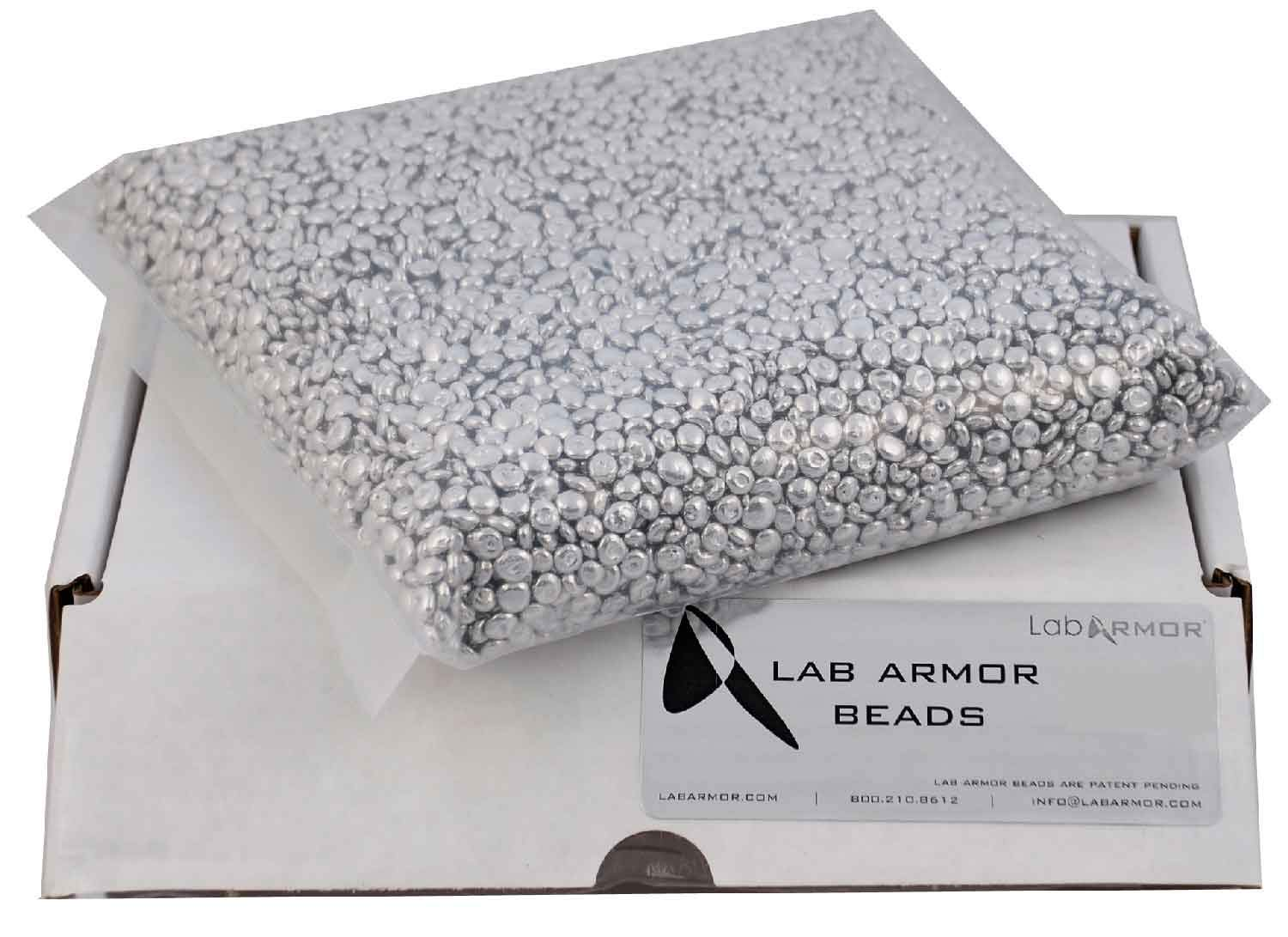 Lab Armor Beads, 0.75 Liters, Eco-Friendly for Lab Heat Blocks and Water Baths