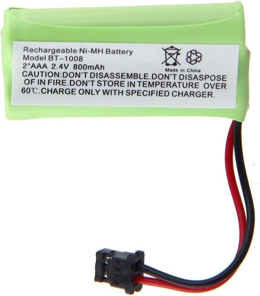 JIAN YA NA 2.4V 2 AAA 800mAh Ni-MH batería de teléfono inalámbrico para el hogar para Uniden(1 Paquete)