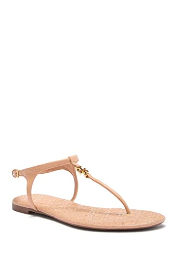 7487cb685 Tory Burch Women s Marion Quilted T-Strap Sandal (5 B (M) US