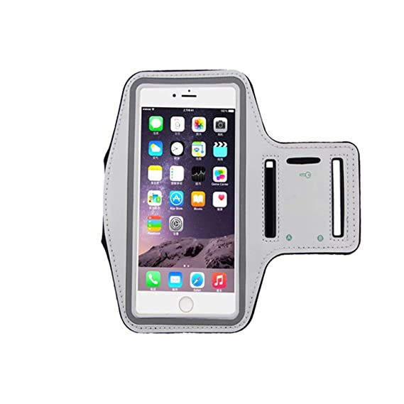 official photos b23a4 47bb2 Amazon.com: Waterproof Phone Armband for Size 6'' inch Running for ...