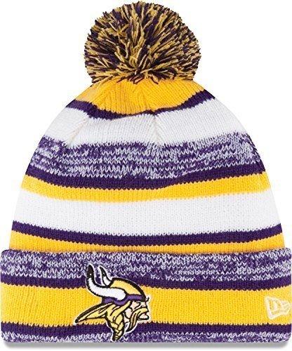 New Era NFL 2014 On-Field Knit Hat (Vikings) (Vikings Stocking Cap)