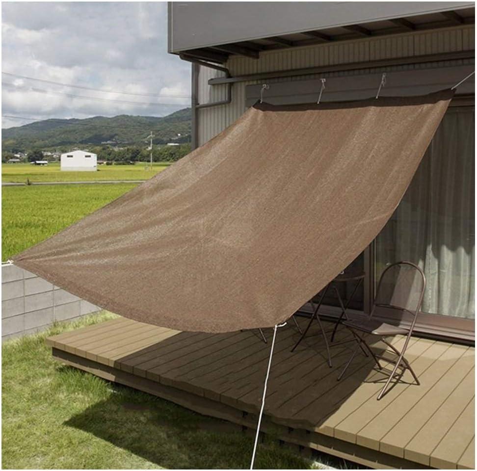 QIANCHENG-Shading net Malla Sombra De Red marrón Cubierta de ...