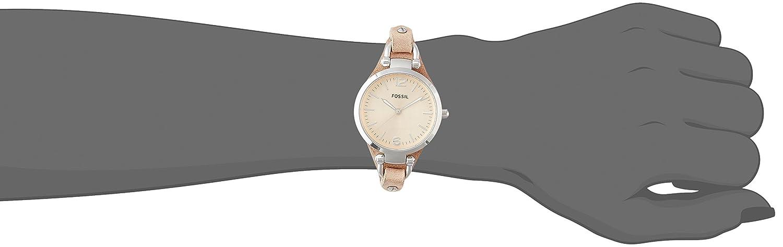 Damen armbanduhr xs ladies dress analog leder es2830