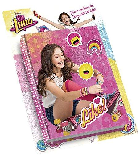 Soy Luna Je suis Luna–Journal avec lumières LED (Kids wd18175)