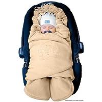 """ByBoom® - Copertina invernale avvolgente per il bebè """"l'originale con l'orsetto"""", universale per ovetto, seggiolino auto, p.es. per Maxi-Cosi, Römer, per passeggino, buggy o lettino"""
