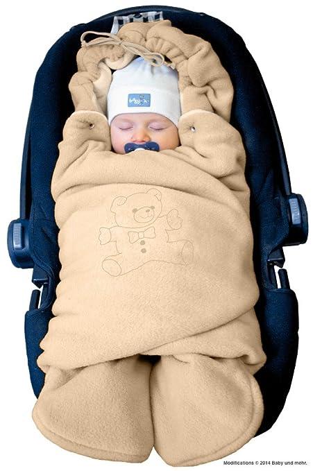ByBoom® - Manta arrullo de invierno para bebé, es ideal para sillas de coche (p.ej. ...