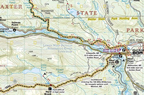 Appalachian Trail Complete Set Of Topo Map Trail Guides National - Appalachian trail topo map