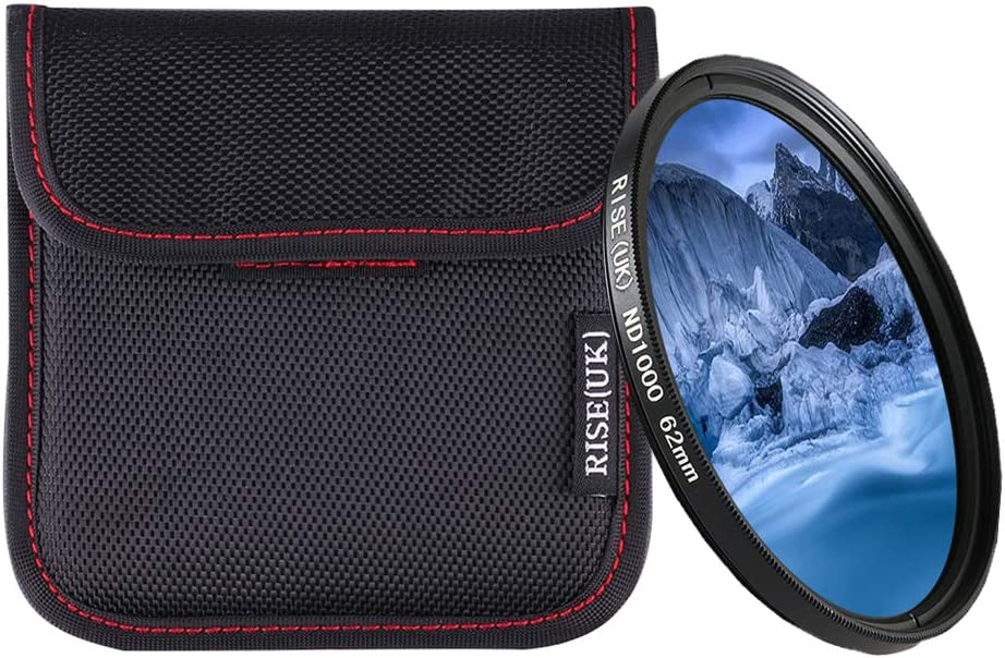Rise 95mm ND1000 Filter Neutral Density ND1000 10 Stop Optical Glass UK
