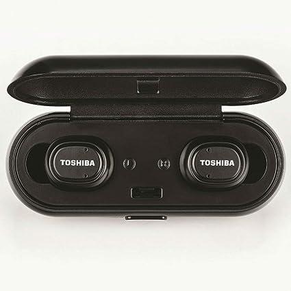 7c168e921f6 Toshiba True Wireless Bluetooth Earbuds with Dual Mics: Amazon.in:  Electronics