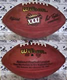Wilson Super Bowl 31 XXXI Official NFL Leather Game Football - (Packers vs. Patriots)
