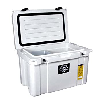 roto molded cooler. calcutta roto molded high performance 50l white cooler