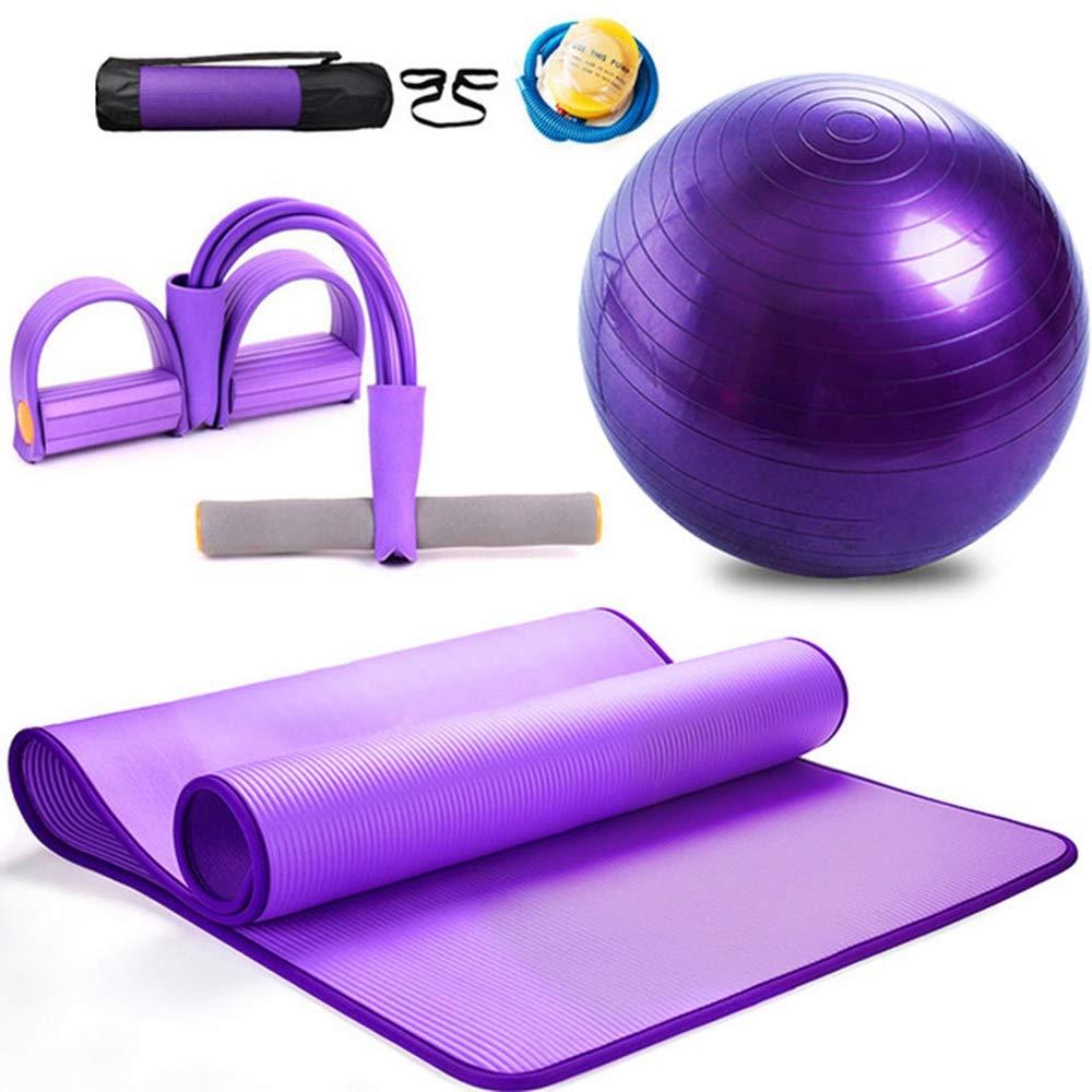 Balón de Yoga, Juego de Alfombrilla de Yoga de Montaje Alfombra de ...