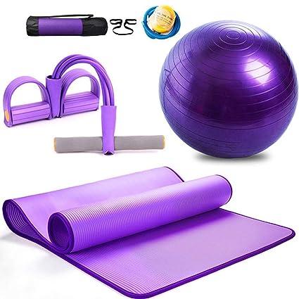 Balón de Yoga, Juego de Alfombrilla de Yoga de Montaje ...