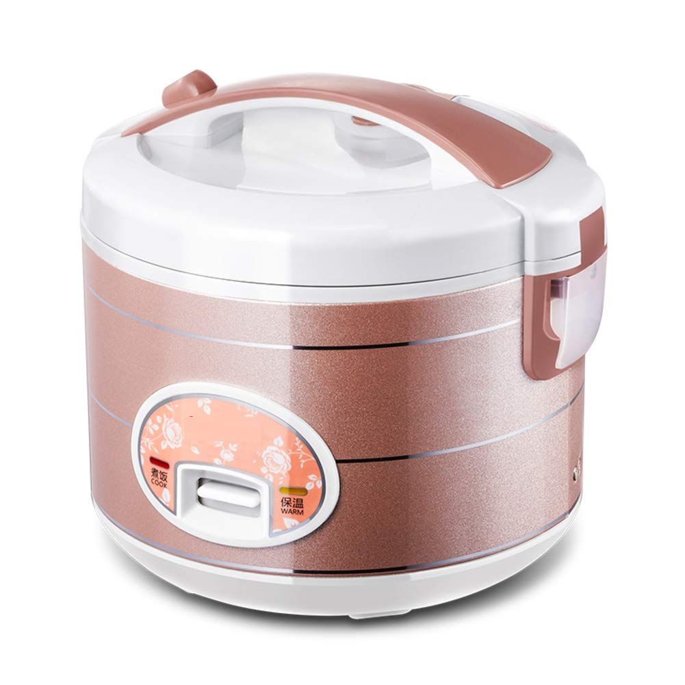SL&DFB Mini rice cooker,Home old-fashioned rice cooker rice cooker small slow cooker 1-2-3-4 people 4l electric pressure cooker-Golden