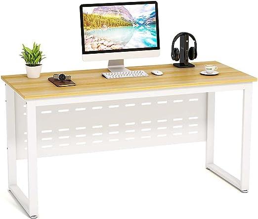 Escritorio para ordenador de 139,7 cm de Little Tree, mesa de ...