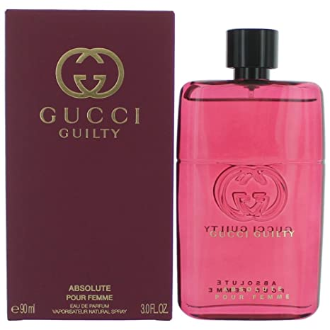 Gucci Guilty Absolute Pour Femme eau de parfum 90 ml  Amazon.it ... 1487c48fdf5