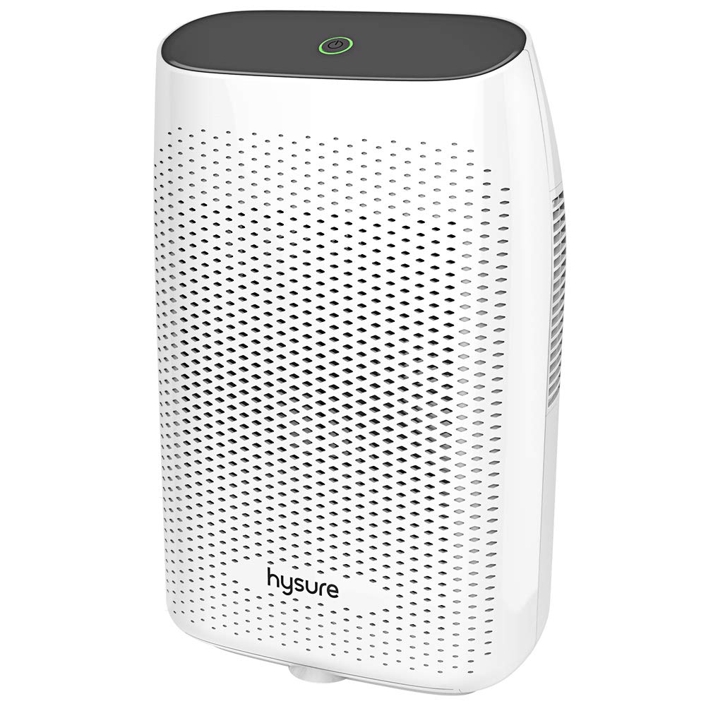 Hysure Electric Dehumidifier, Dehumidifier for Home with 2000ml(68fl.oz) Water Tank Compact and Portable Dehumidifier for Bedroom Damp Air, Mold, Moisture, Kitchen, Bedroom, Basement, Caravan, Office by Hysure
