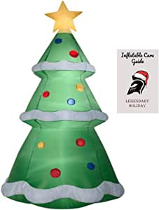 Amazon.com : 10 ft Giant Christmas Tree Inflatable with ...