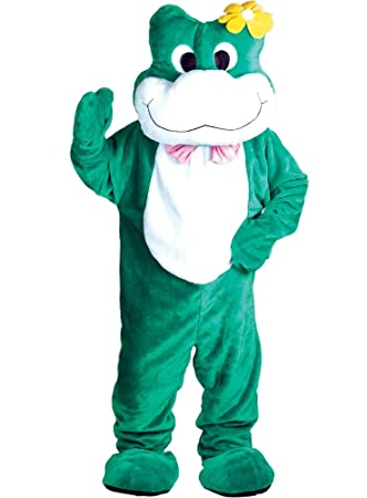 Brilliant Full Body Frog Giant Mascot Fits Up To 6ft 2