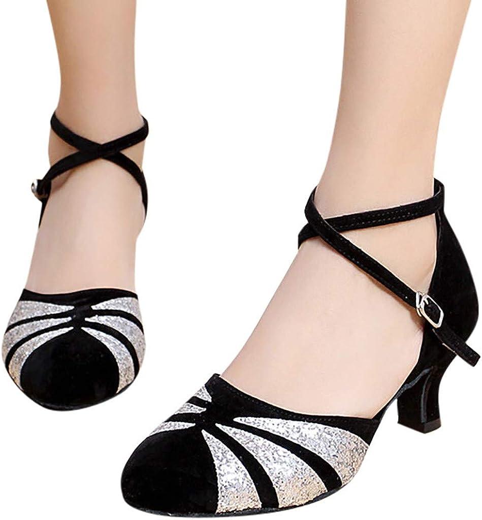 Chaussure Danse Latine Femme, Chaussures De Tango, Sandale Talon Escarpin Mariage, Sandales À Carré, Mocassin Femme Pas Cher Argent