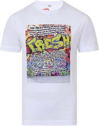 Musical Theme Printed T-Shirt Fresh Prince of Bel Air