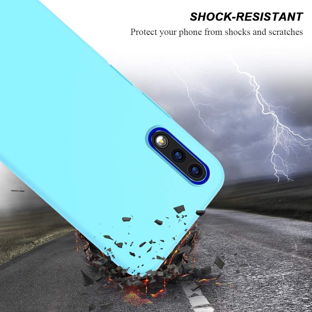 Rojo Carcasa Anti-Ara/ñazos Protector Case Cover E-Lush Caso Ultra Delgado Flexible Gel TPU Goma Funda para Huawei Honor 9X Funda Honor 9X Carcasa Suave Silicona