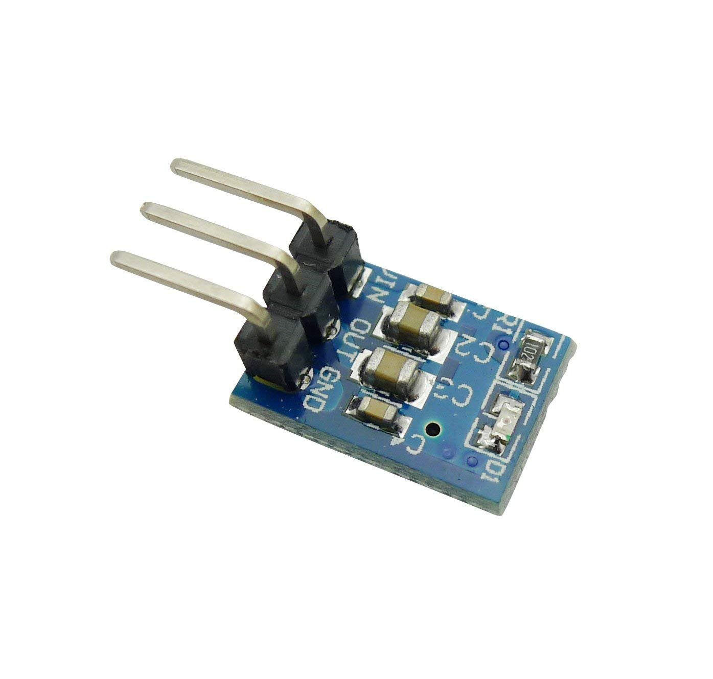 Voltaggio Regolatore Step-Down Alimentazione elettrica Buck Modulo 800mA Aihasd 10PCS AMS1117-3.3 CC 4,75 V-12 V a 3,3 V