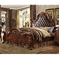 ACME Dresden Cherry Oak Eastern King Bed