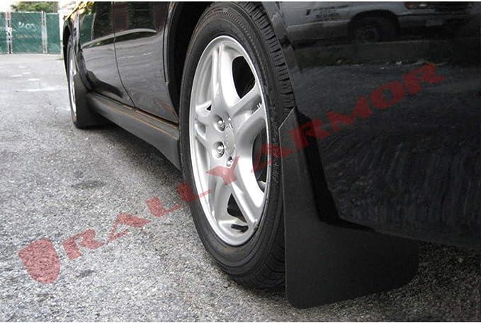 Blue Mud Flap with Logo Wagons req mod Rally Armor MF1-UR-BLK//BL Black 02-07 Subaru WRX//STI//RS//2.5i UR