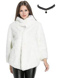 Soporte Mujer Invierno del Chaquetas Chaqueta Corto Collar Abrigo qIwTzz