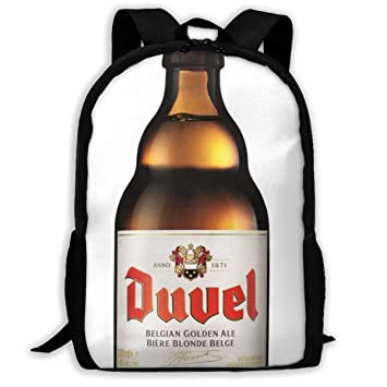 a4b75aa8d7cb Amazon.com: Duvel Beer Oxford Unisex Adult Backpack Lightweight ...