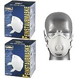 10 Pezzi Maschera per polveri sottili TECTOR 4236 FFP3 con valvola Maschera protezione respiratoria EN149:2001 FF P3