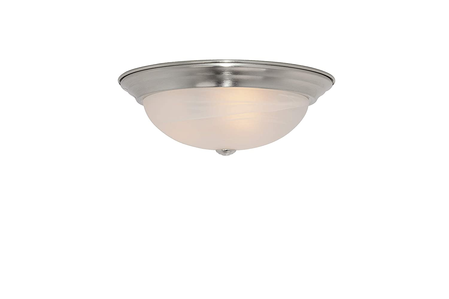 Designers Fountain 1257L-SP-AL Value Collection Ceiling Lights, Satin Platinum