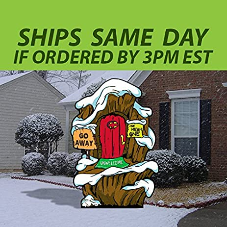 Grinch Lair Yard Decoration - Amazon.com : Grinch Lair Yard Decoration : Garden & Outdoor