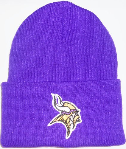 Minnesota Vikings Classic Purple Cuffed NFL Beanie Cap (Nfl Stocking Hats Vikings)