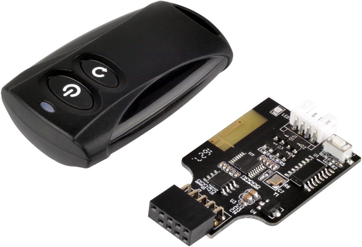 SilverStone Technology Wireless Remote Computer Power/Reset Switch, USB 2.0 9-pin ES02-USB (SST-ES02-USB-USA)