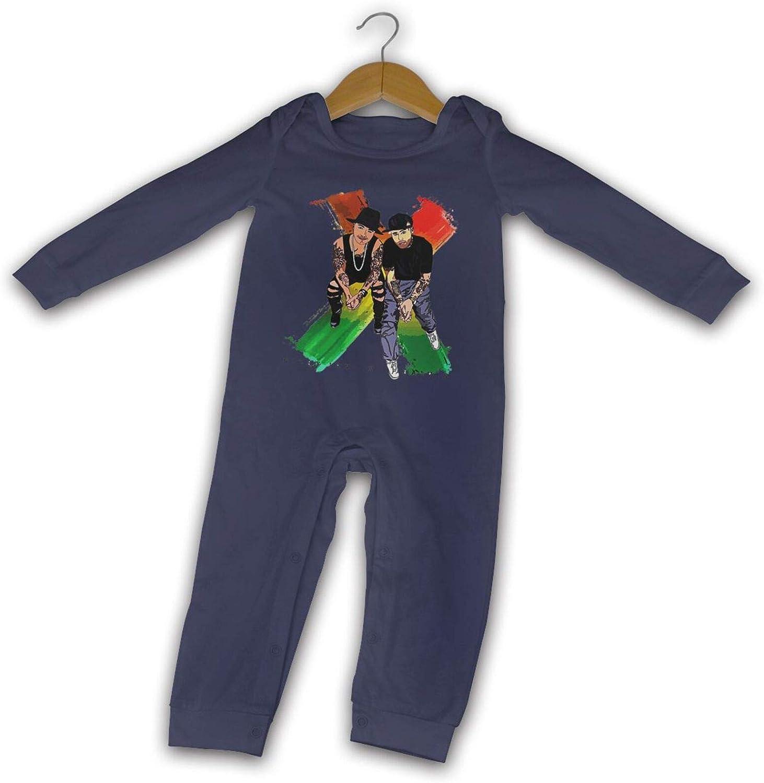 Nicky Jam X J-Balvin Verano de Manga Larga niñas niños bebé ...