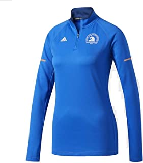 Adidas Performance Women's Boston Marathon Qualifier Half Zip Shirt BK5361