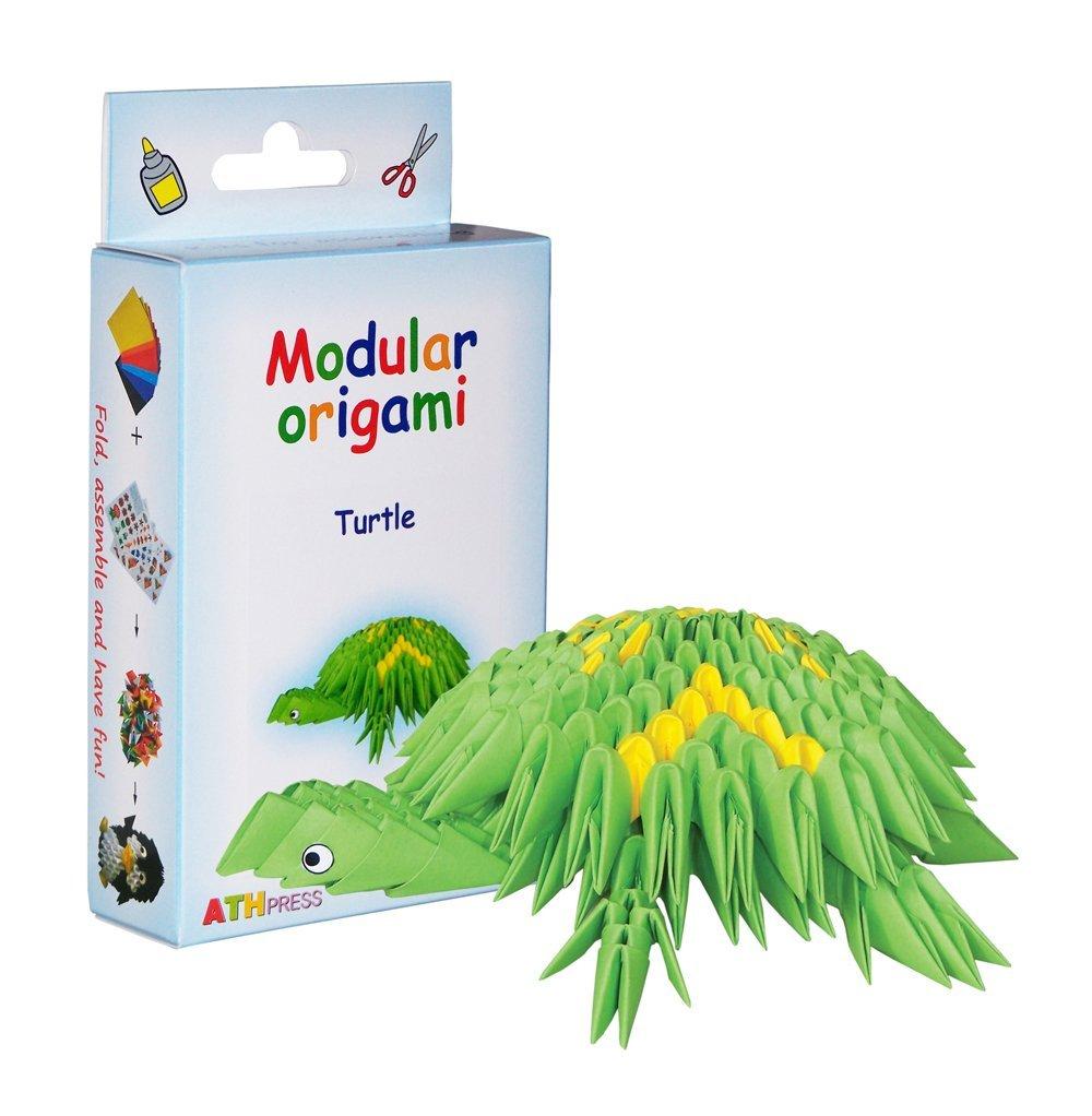 Origami modulari - Set carta 234 pezzi tartaruga piccola ATH Press Ltd AN093
