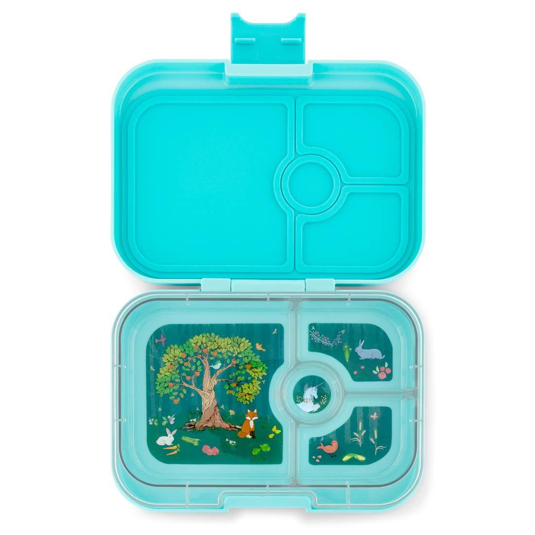 Yumbox Panino M Lunchbox (mit 4 Fächern, Bijoux lila) - Brotdose mit Unterteilung   Bento Box mit Trennwand Einsatz   Brotbox für Kindergarten Kinder, Schule & Arbeit B07HB8Q7C1 Lebensmittelaufbewahrung