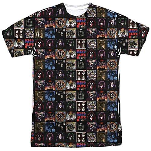 (Kiss- Album Covers T-Shirt Size XXL)