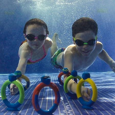 Zoggs - Anillos de Juguete acuáticos para Perder el Miedo a Nadar (a Partir de 3 años), Varios Juguetes: Amazon.es: Deportes y aire libre
